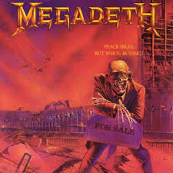 Megadeth ‎– Peace Sells... But Who's Buying? Vinyl