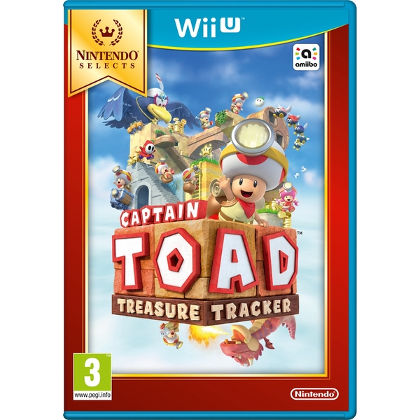 Captain Toad Treasure Tracker Wii U Game (Selects)