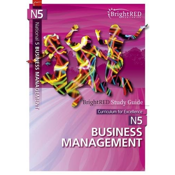 National 5 Business Management Study Guide by Bright Red Publishing (Paperback, 2013)
