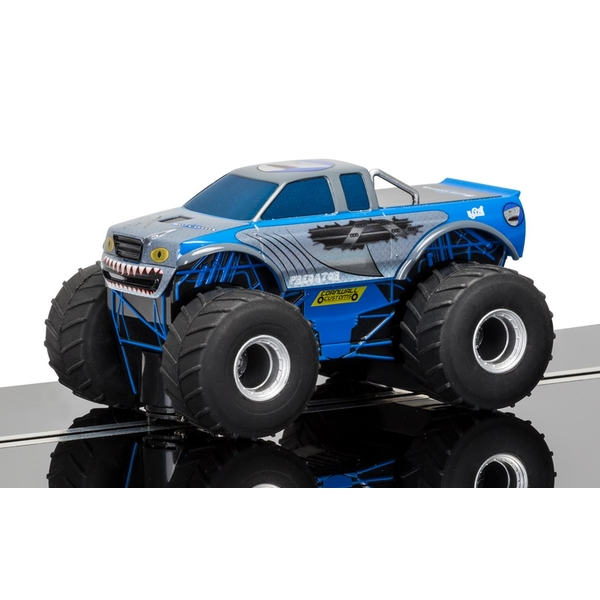 Team Monster Truck Predator (Blue) 1:32 Scalextric Super Resistant Car