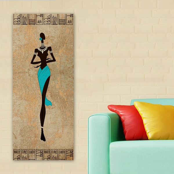 DKY271232160109_50120 Multicolor Decorative Canvas Painting