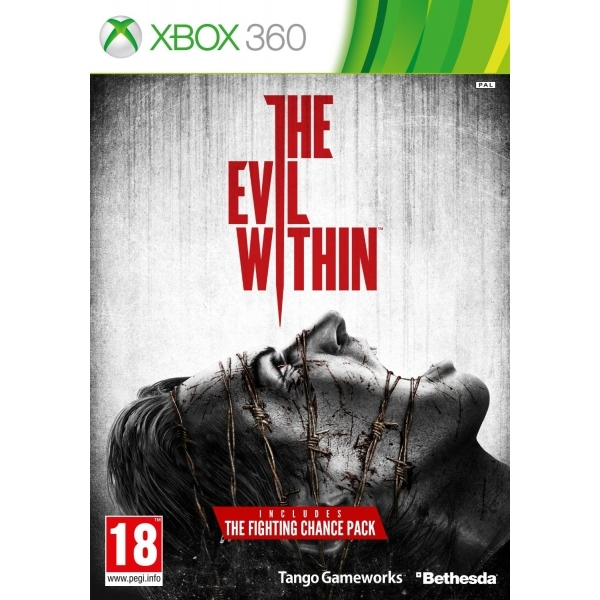 The Evil Within Game Xbox 360 (with The Fighting Chance DLC Pack)