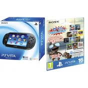 PS Vita Sony Console System Wi-Fi + 3G (UK Plug) with 16GB Memory Card & Mega Pack