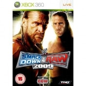 Ex-Display WWE Smackdown vs Raw 2009 Game Xbox 360 Used - Like New
