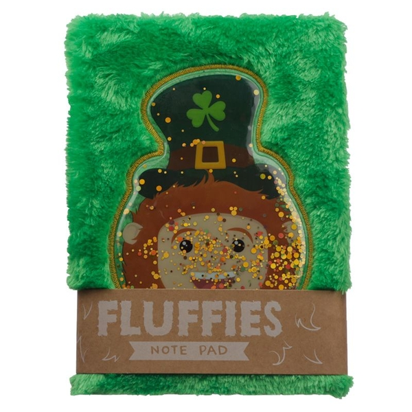Leprechaun Plush Fluffies Notepad/Notebook