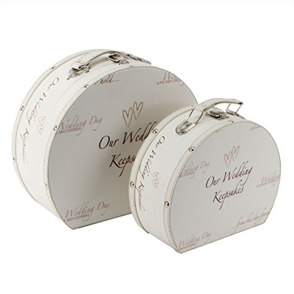 Wedding Day Keepsake Luggage Case