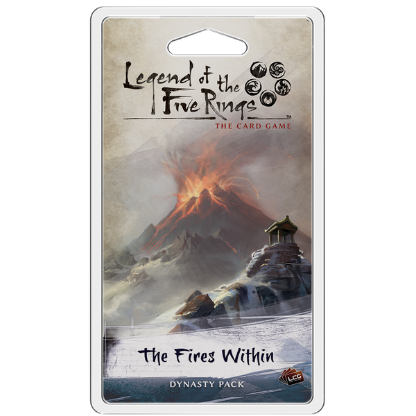Legend of the Five Rings TCG: The Fires Within Dynasty Pack
