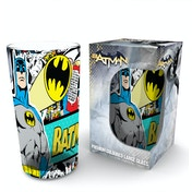 Batman Comics Comic Wrap Coloured Glass Premium Large Glass