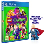 Lego DC Super Villains PS4 Game (Includes Lex Luthor Mini-Figure)