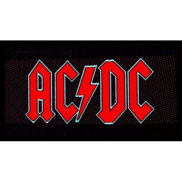 AC/DC - Red Logo Standard Patch