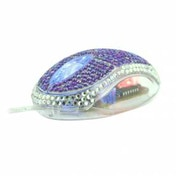 Satzuma Diamante Mouse Purple