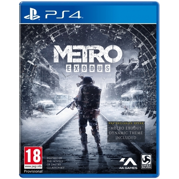 Metro Exodus PS4 Game + Spartan Survival Guide