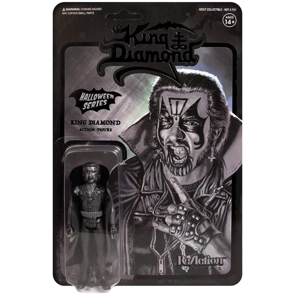 Black on Black (King Diamond) ReAction Figure