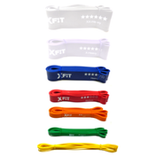 Resistance Loop Bands | Pukkr 5 Pack (XX-Light to Heavy)