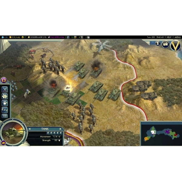 Sid Meier's Civilization V 5 Game Of The Year Edition (GOTY) PC (#) - Image 3