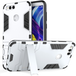 Huawei Honor 7X Armour Combo Stand Case - Steel Silver - Image 2
