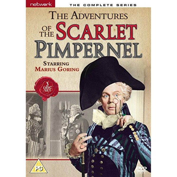 The Adventures of the Scarlet Pimpernel - The Complete Series DVD