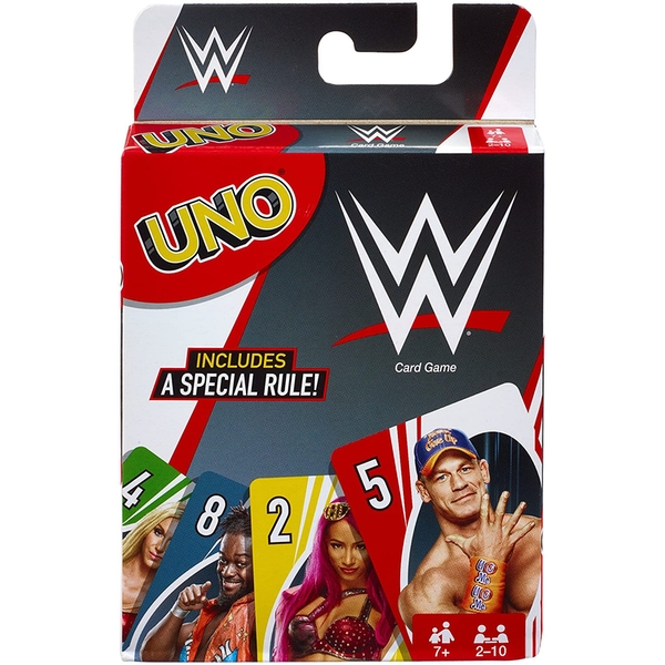 WWE Uno Card Game - Image 1