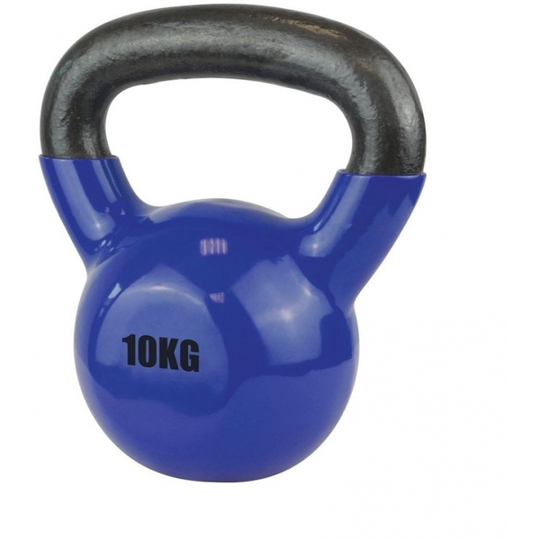 UFE Vinyl Coated Kettlebell 10kg Blue
