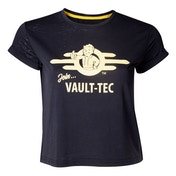 Fallout - Join Vault-Tec Women's XX-Large T-Shirt - Black