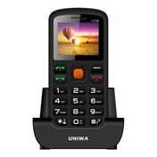 Value Range V708 Uniwa Big Button Mobile Phone UK Plug
