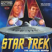 TOS Enterprise '50th Anniversary Edition' (Star Trek) 1:350 Model Kit