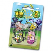 Bin Weevils 2 Pack Chain Dog Tags (Multicoloured)
