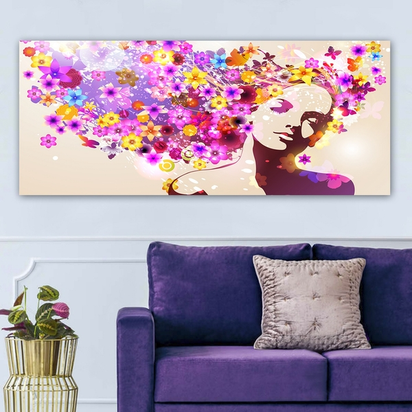 YTY947081_50120 Multicolor Decorative Canvas Painting