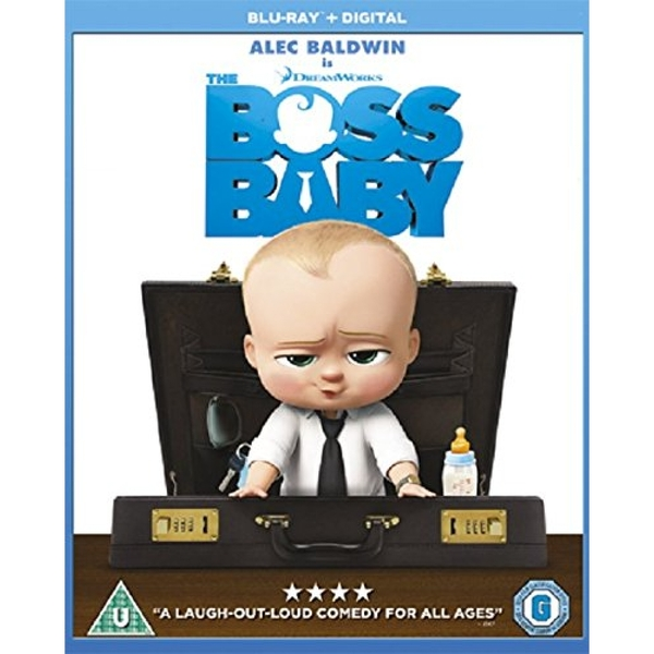 The Boss Baby Blu-ray + Digital