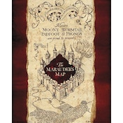 Harry Potter Marauders Map Mini Poster