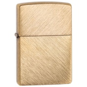 Zippo Herringbone Sweep Brass Finish Windproof Lighter