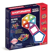 Magformers 62-Piece Construction Set
