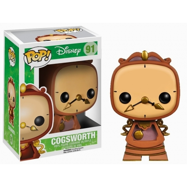 Cogsworth (Disney Beauty & The Beast) Funko Pop! Vinyl Figure
