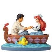 Waiting For A Kiss Ariel & Prince Eric (Little Mermaid) Disney Traditions Figurine