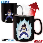 Dragon Ball - Heat Change Dbz/  Vegeta Mug