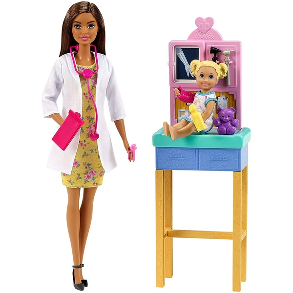 Barbie You Can be Anything Pediatrician Playset