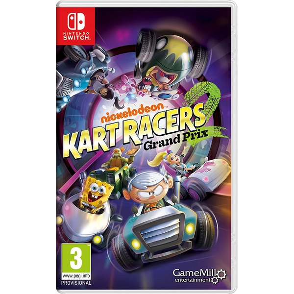 Nickelodeon Kart Racers 2 Grand Prix Nintendo Switch Game