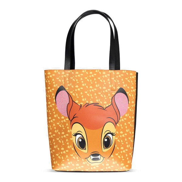 DISNEY Bambi Face Shopper Bag - Brown