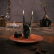 Black Zombie Hand RCK Gesture Candle - Image 4