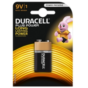 Duracell Plus Power Alkaline Pack of 1 9V Battery