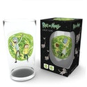 Rick and Morty Portal Large Glass