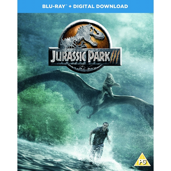 Jurassic Park III DVD: Blu-ray + Region Free (Digital Download)