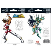 Saint Seiya - Pegasus/Shiryu Mini Stickers