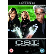 CSI Crime Scene Investigation Las Vegas Season 12 DVD