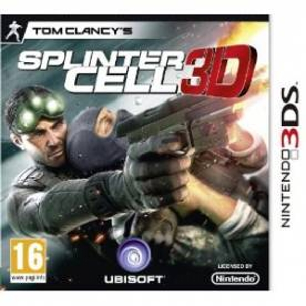 Tom Clancys Splinter Cell Game 3DS