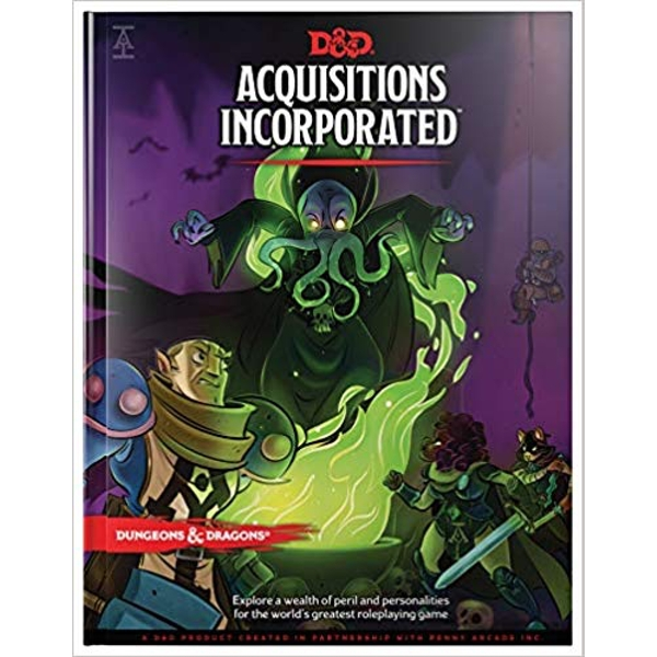 Acquisitions Incorporated Book: Dungeons & Dragons (DDN)
