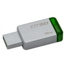 Kingston Technology DataTraveler 50 16GB 16GB USB 3.0 (3.1 Gen 1) Type-A GreenSilver USB flash drive