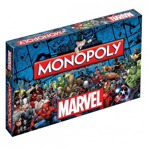 Marvel Universe Monopoly Board Game