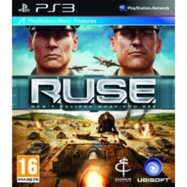 R.U.S.E. (RUSE) (Move Compatible) Game PS3 - Image 1