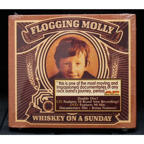 Flogging Molly - Whiskey On A Sunday CD & DVD
